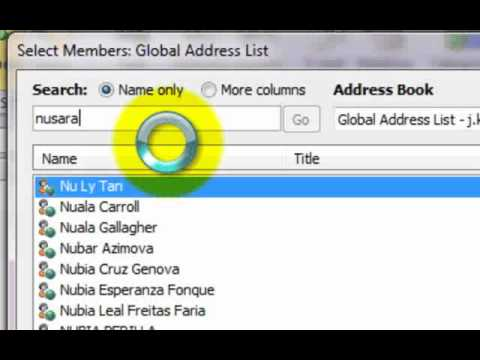 Outlook 2010: Create Contact Group