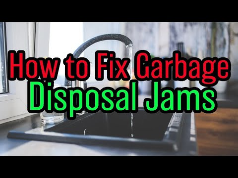How to Fix Garbage Disposal Jams