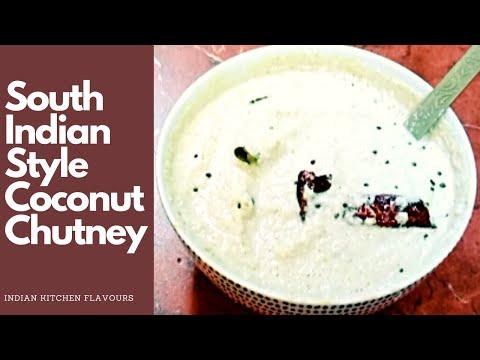 Coconut Chutney Recipe | Nariyal Chutney | Chutney for Idli / dosa / medu vada / dal vada