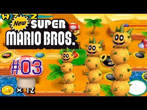 Let's Play: New Super Mario Bros #03 ein Rage in W2-1! 🍄