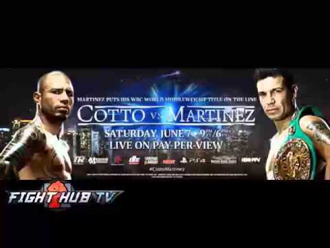 Cotto vs. Martinez: Sergio Martinez promises to end fight early on full teleconference call