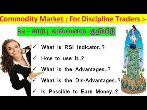 Commodity Market : How to Find A Buy and Sell trend Using RSI With 99% Sureshot Profits..!