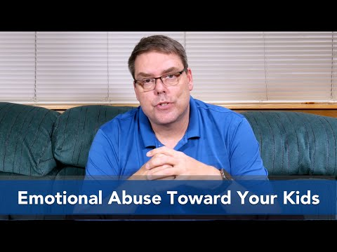 Emotional Abuse Toward Your Kids