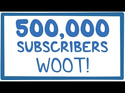 500,000 subscribers!