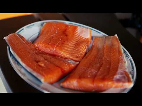 Salmon on the Zentro Fire Pit