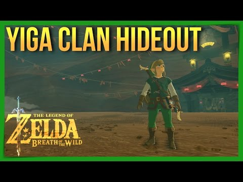 Sneaking Into Yiga Clan Hideout! Zelda: Breath of the Wild Guide