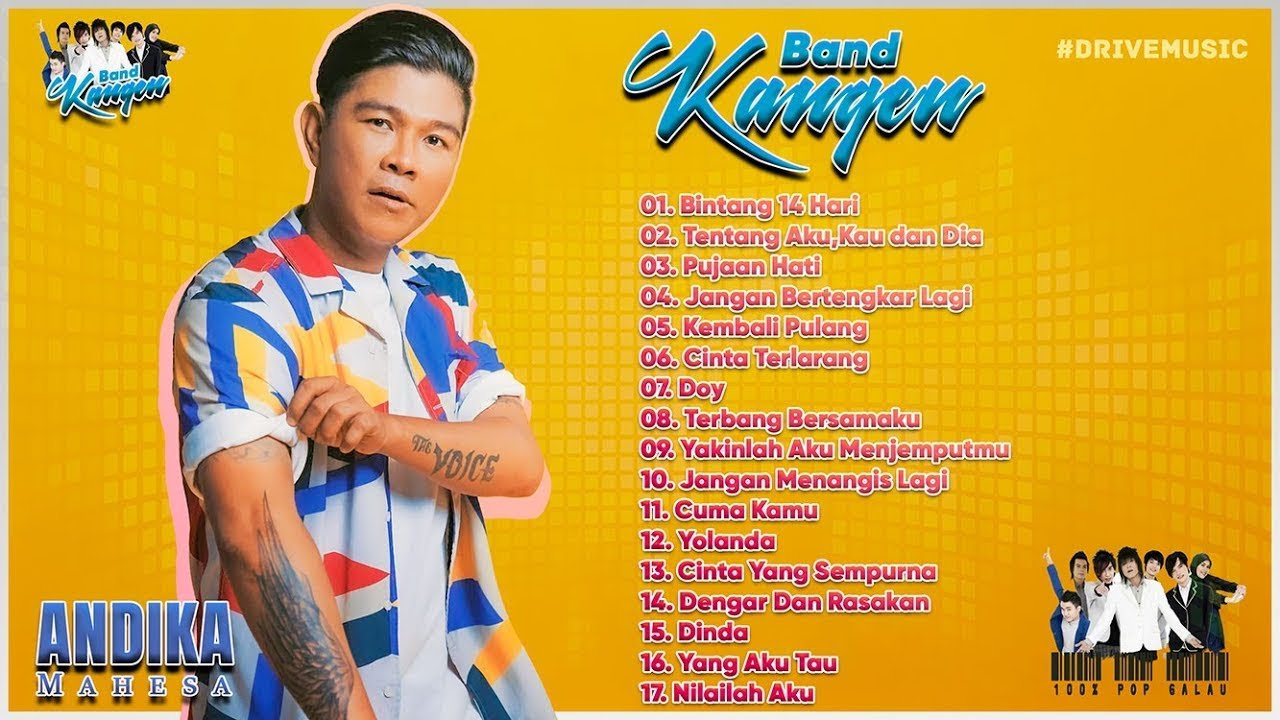 Download Andika Kangen Full Album - Lagu Tahun 2000an Paling Enak Didengar MP3 Gratis