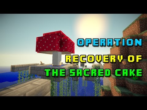 Minecraft Custom Map - Operation: Recovery of the Sacred Cake [LIVE]