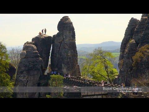 Elbsandsteingebirge, Germany  エルベ砂岩山地