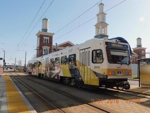 MTA Maryland: Baltimore Light Rail #5036... Rehabbed!