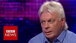 David Icke talks conspiracy theories - BBC News