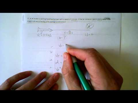 Physics Acceleration Problem 17