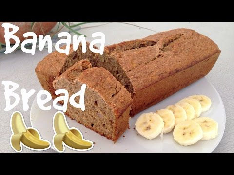 Healthy, easy and delicious banana bread. No flour, no butter.