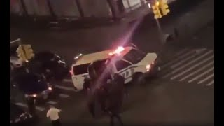 Large Crowds, Looting and Officer Struck in the Bronx During Citywide Curfew   NBC New York