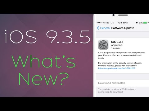 iOS 9.3.5: Critical Security Update, Remote Jailbreak to Inject Malware!? Scary..
