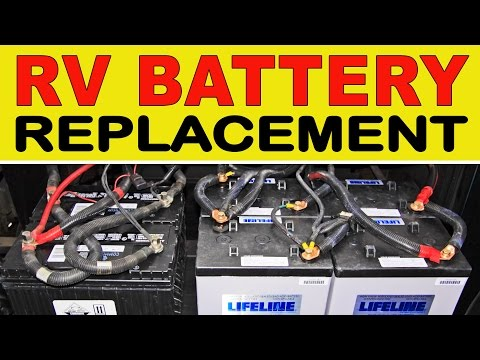 How To Replace Deep Cycle RV