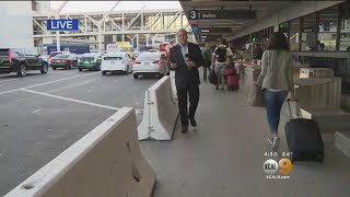 LAX Looks To Bolster Holiday Travel Security With Concrete Barriers