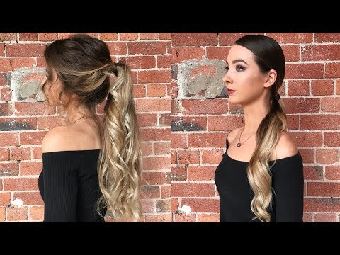 HOW TO DO THE PERFECT PONYTAIL | Messy vs. Sleek with ELEVEN Australia