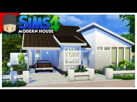 Small Modern House - The Sims 4 House Building