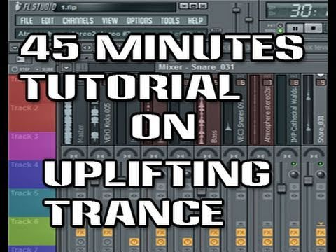 How to make Uplifting Trance Music in FL Studio - Video Tutorial