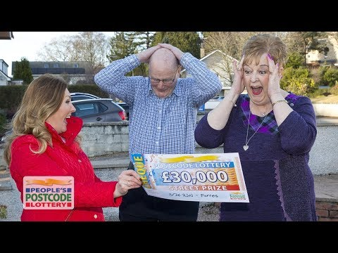 Street Prize Winners - IV36 2JN in Forres on 03/03/2018 - People's Postcode Lottery