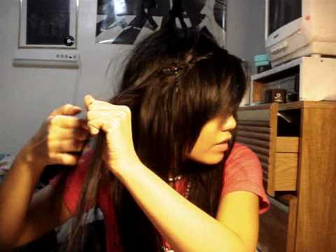 How to have Hanh's hippie/bohemian headband braid