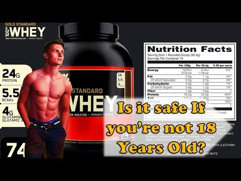 Is Whey Protein SAFE at Age under 18 Years Old| Bodybuilding