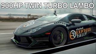 900hp TWIN TURBO VS SUPERCHARGED LAMBORGHINI! (You