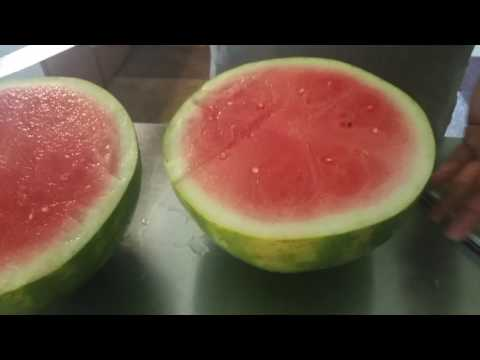 How to cut watermelons Super clean fast