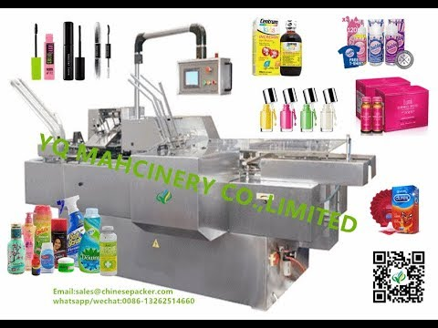 leaflet manual fold and insert machine for bottle durex medicine blister cartoner