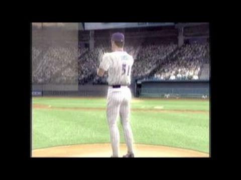MVP Baseball 2005 GameCube Gameplay - Randy Johnson