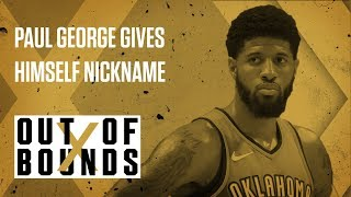 "Paul George Gives Himself Nickname ""Playoff P"" 