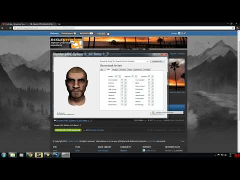 Skyrim How To Edit Your Own Npc / NPC Editor