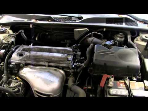 Replacing the valve cover gasket on a 2002-2006 Toyota Camry.  Fixes oil leak