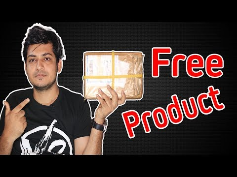 Best Way to Get Free Products For unboxing and Review  For Your YouTube Channel | 2018