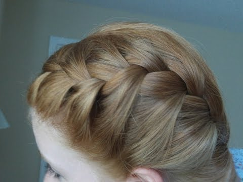 How to - French Braid your Hair in Two Parts