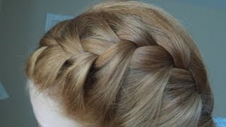 How To French Braid Your Hair In Two Parts