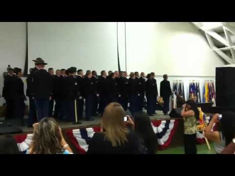 1st Platoon March to Stage C/787 12-11 Charlie Rock