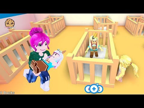 Adopt Me ! Baby Kid Looking For A Family - Roblox Let's Play Video Game Cookie Swirl C
