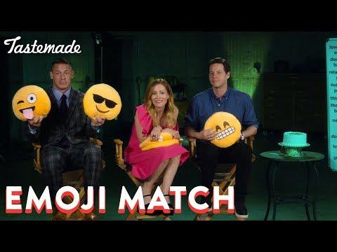 Emoji Match With John Cena, Leslie Mann & Ike Barinholtz | Tastemade