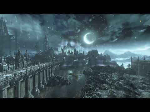 Dark Souls III -ASMR- Nap Time In the Boreal Valley - Ambient Sounds {Wind & Snow}