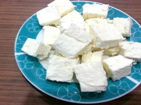 Quick and Easy HomeMade Paneer/Cottage cheese Recipe- FoodChenBySana