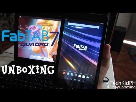 FabTAB Quadro 7 Unboxing