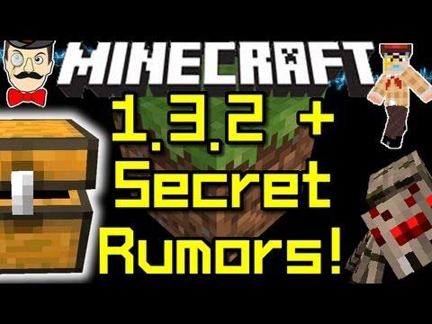 Minecraft News 1.3.2 UPDATE & SECRET RUMORS !