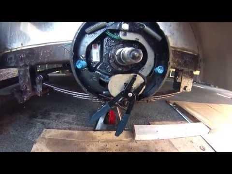Electric Trailer Brake Maintenance 10