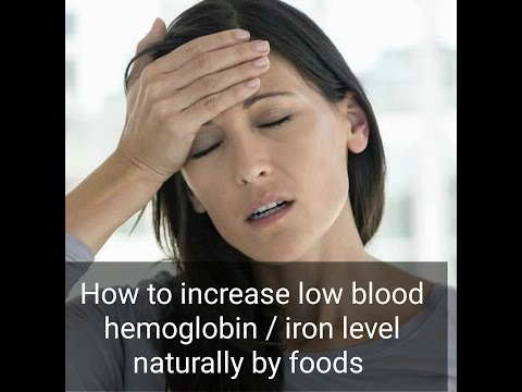 Top 10 foods to increase hemoglobin/iron level
