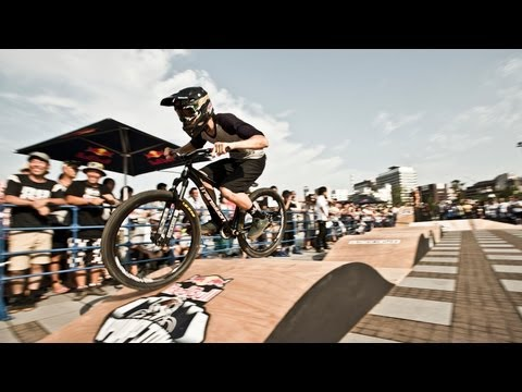 Pump Track Race in Japan - Red Bull Pump Jam 2013