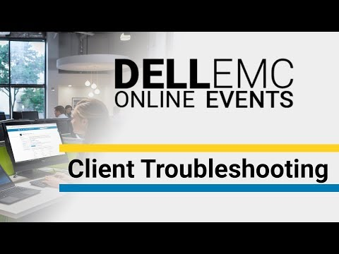 Fehlersuche bei Dell Notebooks/Desktops - Dell EMC Online Events