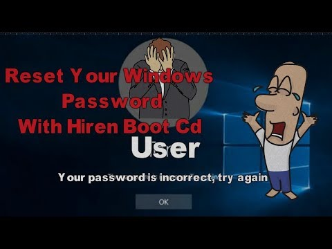 How to Reset Your Windows Password With Hiren Boot CD