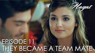 Hayat and Murat became a team mate | Hayat Episode 11 (Hindi Dubbed) [#Hayat]